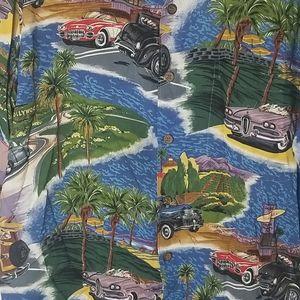 Awesome classic cars Reyn Spooner Hawaiian shirt